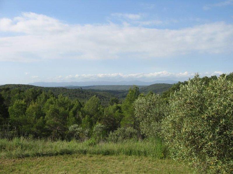 Moorish massif view