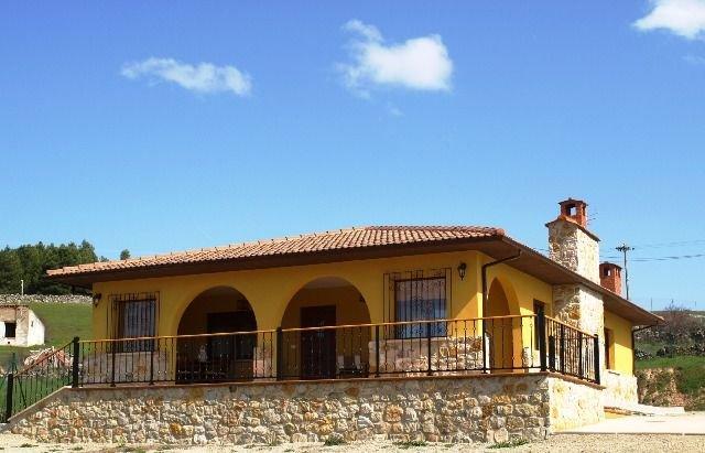 Casa Eras de la Cabizuela (alquiler íntegro) para 7 personas VuT-09/071, casa vacanza a Hacinas
