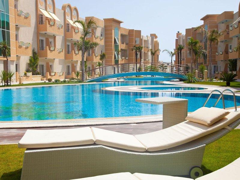 Bel Appart S+1 dans une résidence sécurisée, vacation rental in Sousse