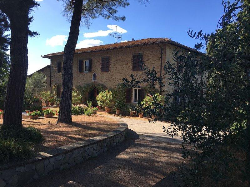 Chianti, Impruneta, luxury Villa with Pool and large garden., holiday rental in Strada in Chianti
