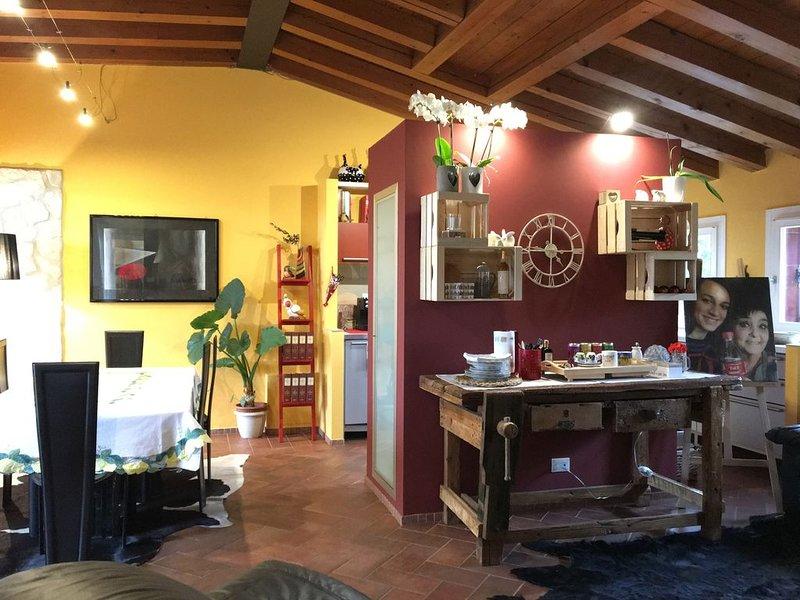 Appartamento elegante ed accogliente max 4 persone, alquiler vacacional en Montebello Vicentino