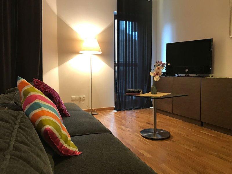 Luxury Apartment in Crakow, casa vacanza a Marcyporeba
