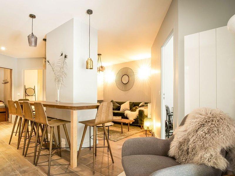 Appartement de 54m2 avec terrasse à Valloire au pied des télécabines, location de vacances à Valloire