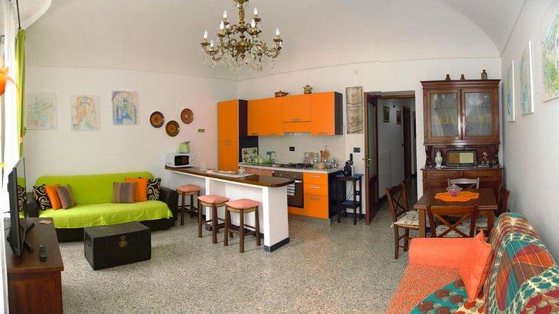 Confortevole appartamento nel centro storico di Pieve di Teco, vacation rental in Pieve di Teco