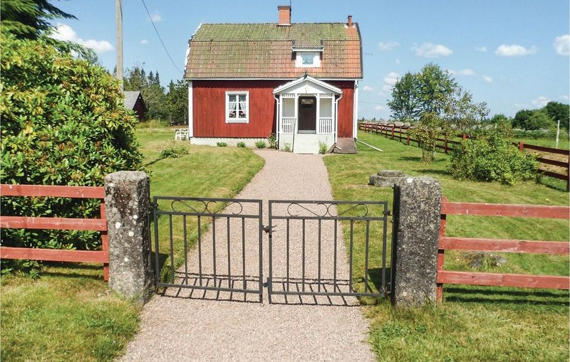 1 Zimmer Unterkunft in Södra Vi, location de vacances à Horn