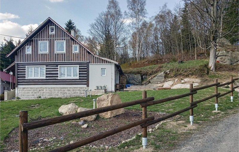 4 Zimmer Unterkunft in Janov nad Nisou, aluguéis de temporada em Janov nad Nisou