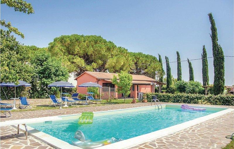 4 Zimmer Unterkunft in Grosseto -GR-, holiday rental in Montepescali