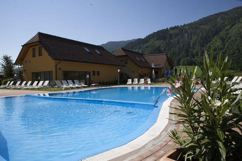 Ferienhaus - 6 Personen*, 24m² Wohnfläche, 2 Schlafzimmer, Garten, Internet, location de vacances à St. Lambrecht