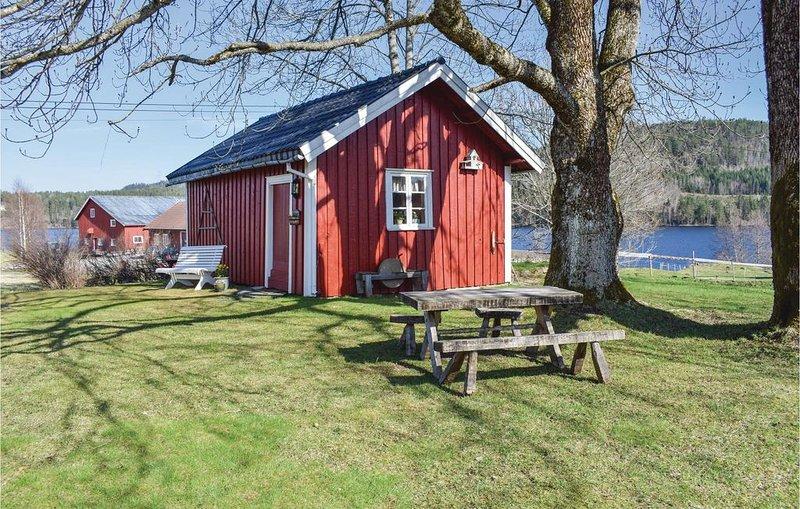 1 Zimmer Unterkunft in Neslandsvatn, casa vacanza a Sundebru