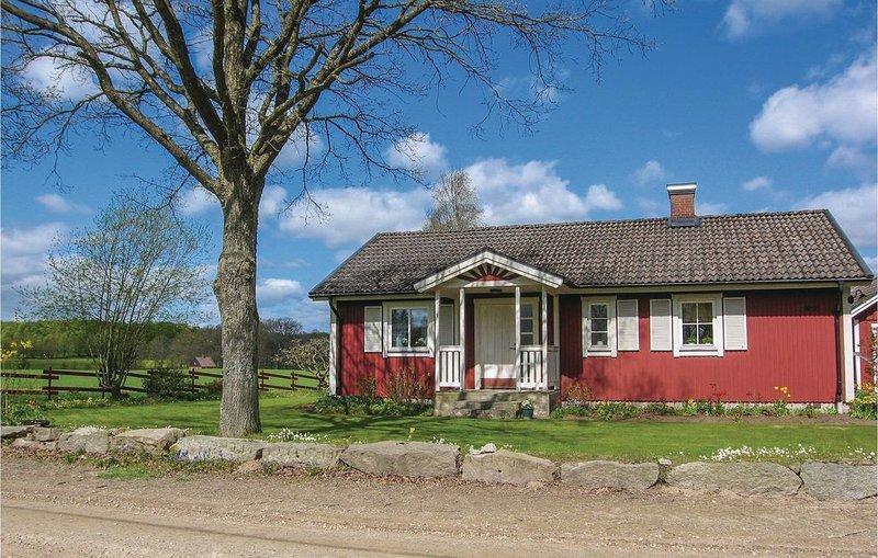 2 Zimmer Unterkunft in Degeberga, holiday rental in Lovestad