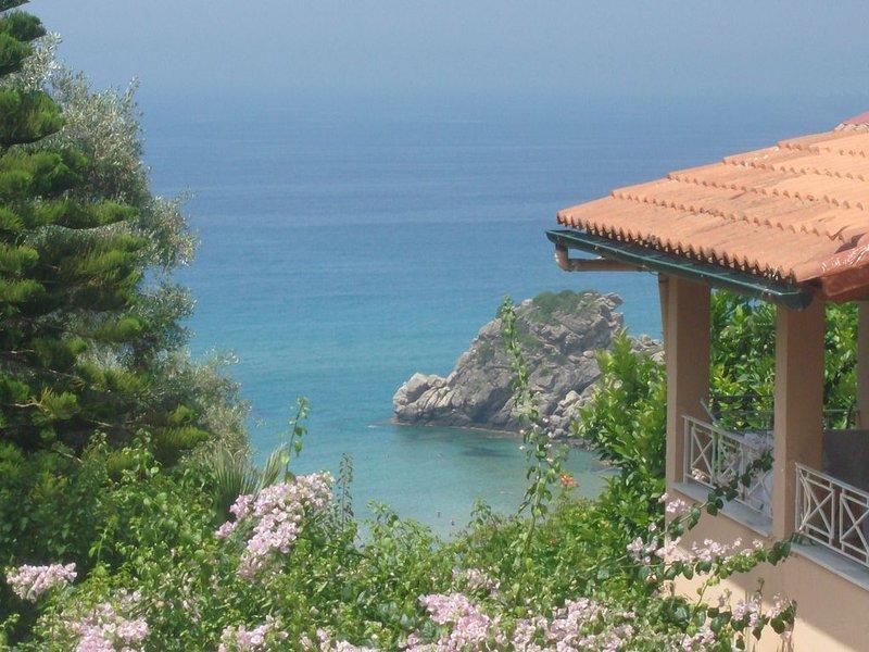 Ferienwohnungen Tonia - Pelekas Beach, Korfu, holiday rental in Avramis