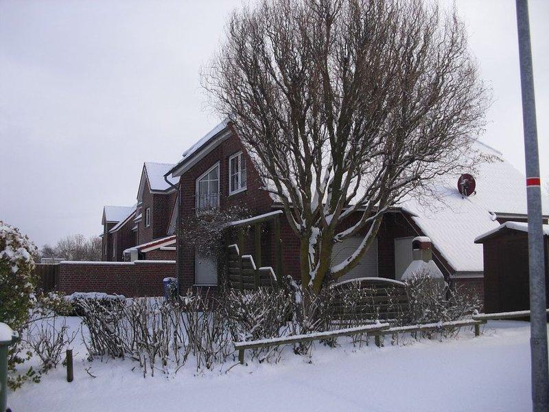 Doppelhäuser Seeräuber im Küstenbadeort Neßmersiel, holiday rental in Dornum