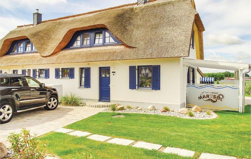 2 Zimmer Unterkunft in Zierow OT Poeler Drift, holiday rental in Zierow