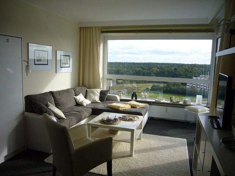 FB 10.02 - Komplett ausgestattete Ferienwohnung mit Schwimmbad, nahe Strand für, holiday rental in Nordholz