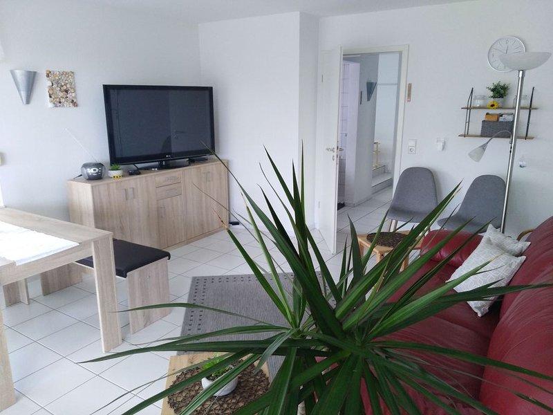 Ferienwohnung mit Terrasse, 58qm, 1 Schlafzimmer, max. 4 Personen, vacation rental in Endingen