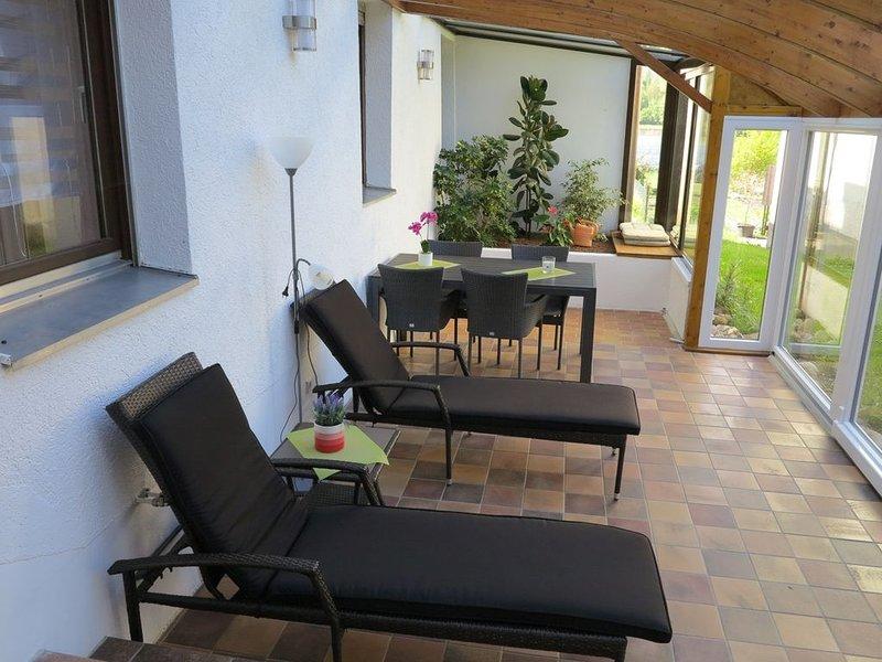 Wohnung Andrea, 70 qm, 1 Schlafzimmer, max. 2 Personen, holiday rental in Canton of Schaffhausen