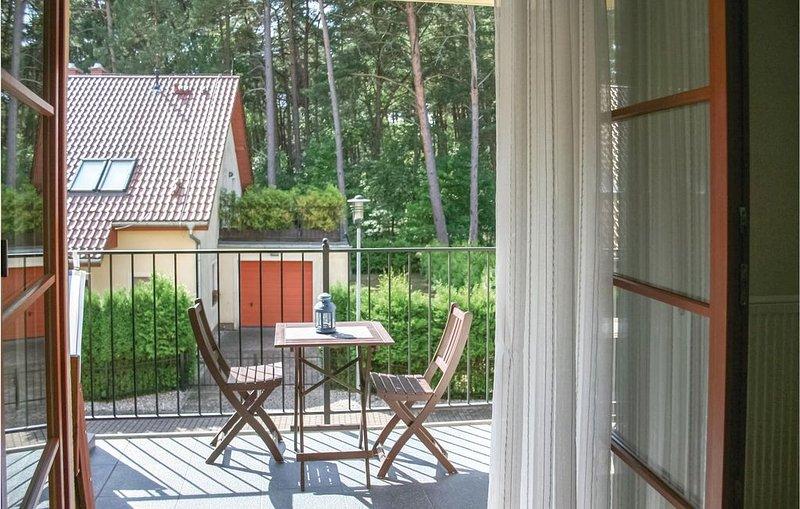 1 Zimmer Unterkunft in Pobierowo, holiday rental in Niechorze