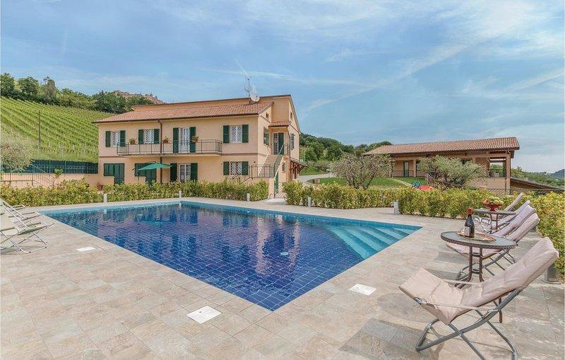 4 Zimmer Unterkunft in Montedinove (AP), holiday rental in Montedinove