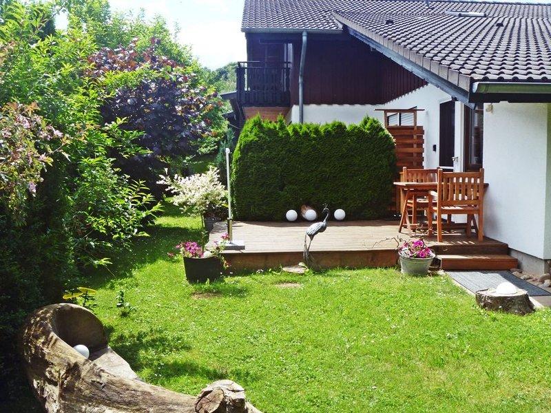 Fewo mit Terrasse, kontaktloser  Aufenthalt, vakantiewoning in Bad Emstal