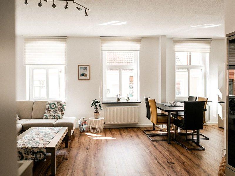 Ihre zweite Heimat im Herzen der Stadt Usedom, location de vacances à Rubkow