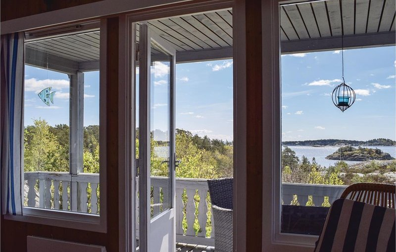 3 Zimmer Unterkunft in Søndeled, casa vacanza a Sundebru
