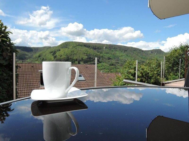 Haus Eisele Ferienwohnung 1, 45qm, mit Doppelbett, Schlafsofa, TV, Badezimmer, E, Ferienwohnung in Nürtingen