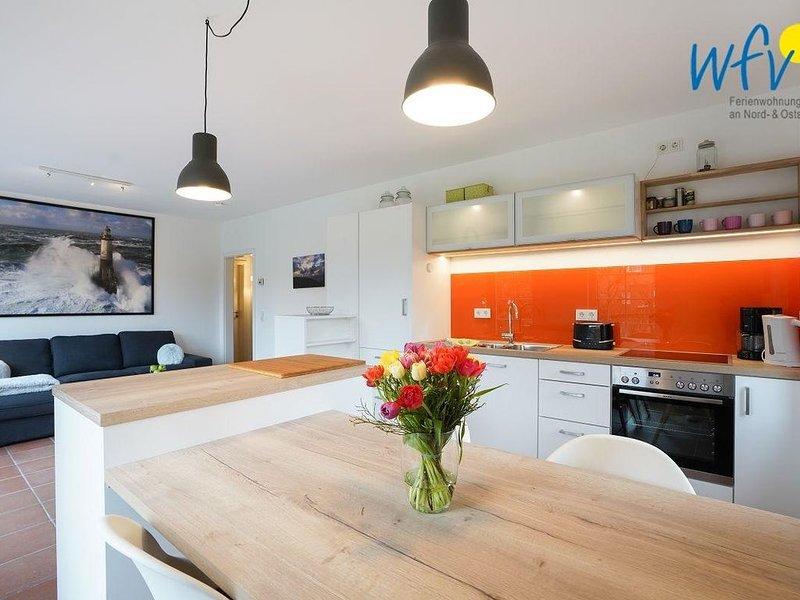 Moderne Ferienwohnung mit Terrasse und großem Garten!, location de vacances à Norderney