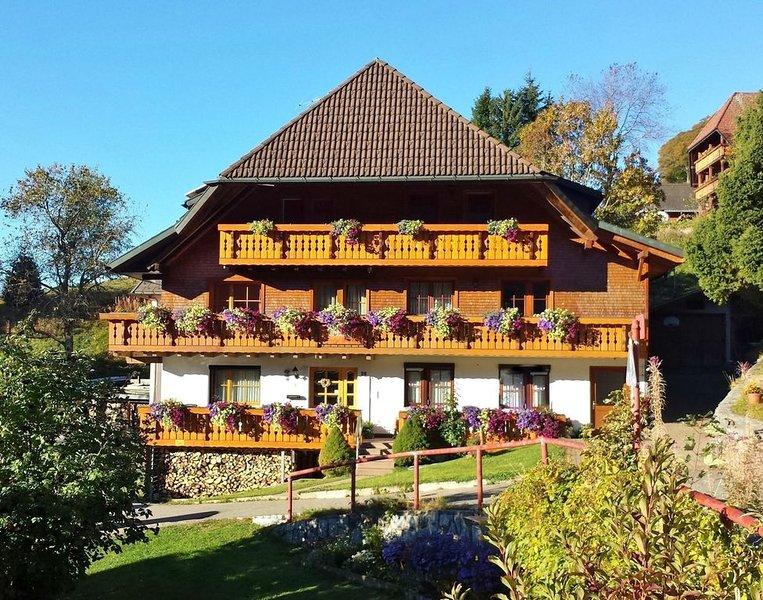 Ferienwohnung/App. für 6 Gäste mit 68m² in Todtnauberg (122780), vacation rental in Todtnau