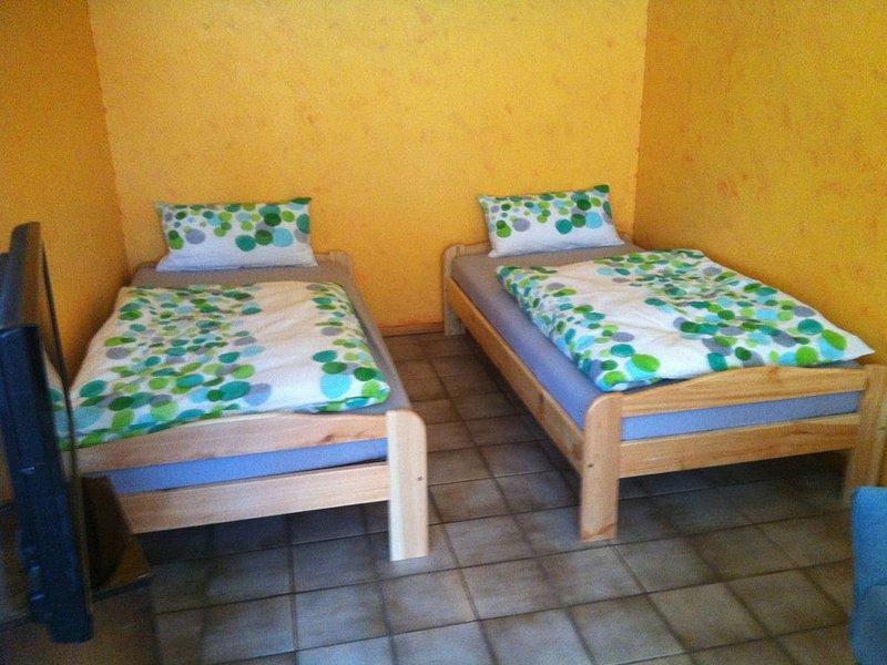 Ferienwohnung, 150 qm mit 2 Balkonen und Wintergarten mit 3 Schlafzimmern für ma, vacation rental in Albstadt