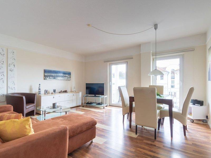 3-Raum Ferienwohnung im Haus Godewind in Binz, holiday rental in Lancken-Granitz
