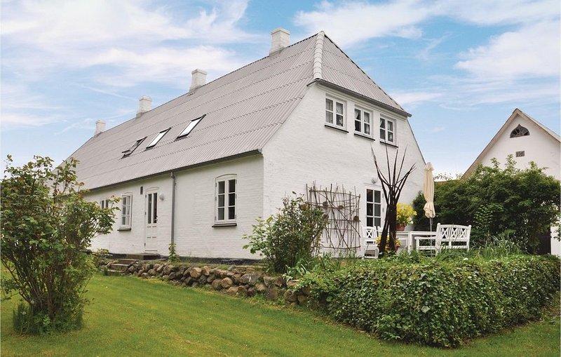 3 Zimmer Unterkunft in Faaborg, alquiler vacacional en Helnaes