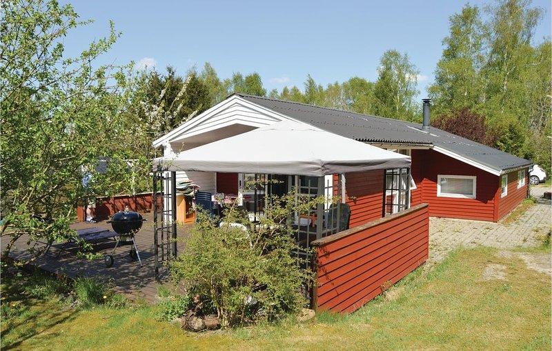 3 Zimmer Unterkunft in Fårvang, location de vacances à Bording