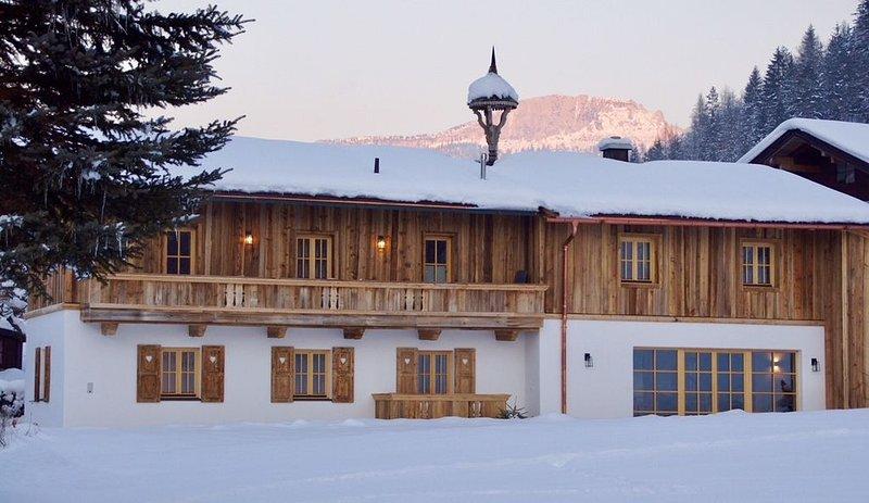 Alter Bauernhof umgewandelt in ein luxuriöses Chalet in den Kitzbüheler Alpen – semesterbostad i St. Ulrich am Pillersee