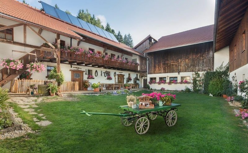 Gemütliches Feriendomizil (60 m2) im Nationalpark Bayerischer Wald mit Balustrad, vakantiewoning in Kvilda