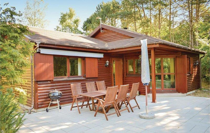 3 Zimmer Unterkunft in Ebeltoft, alquiler vacacional en Fuglslev
