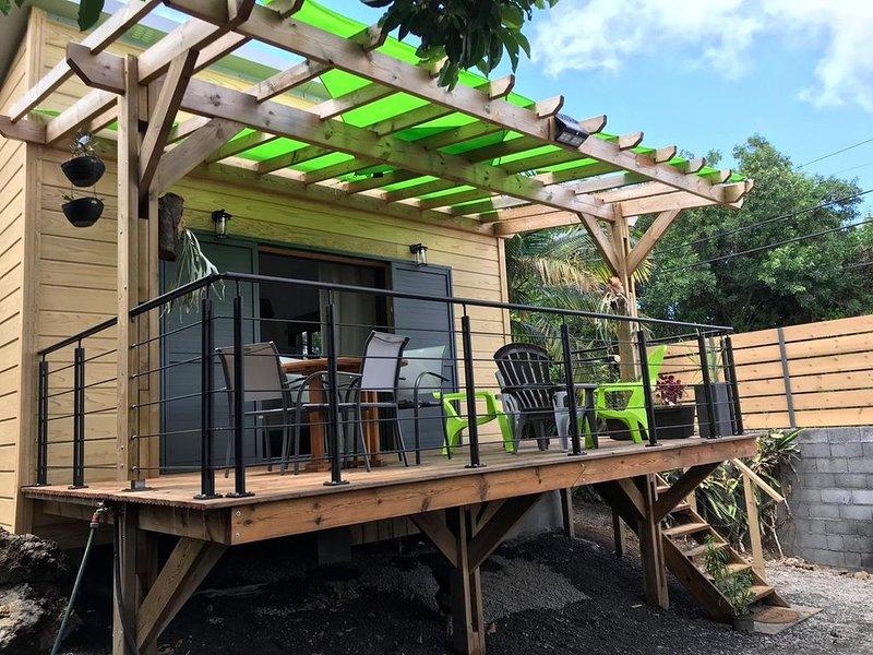 Bungalow in grüner Umgebung, casa vacanza a Ravine des Cabris