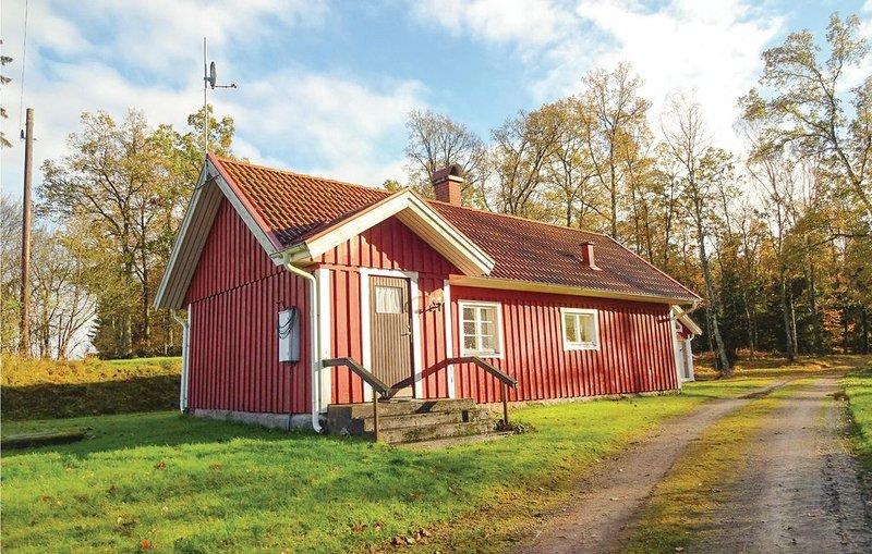 2 Zimmer Unterkunft in Hästveda, holiday rental in Markaryd