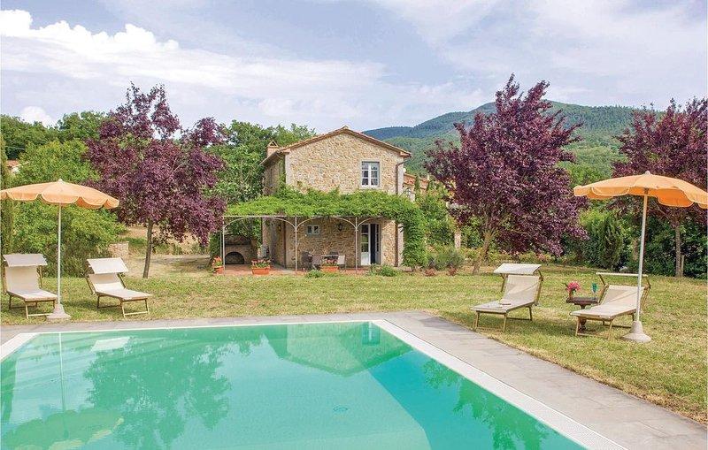 2 Zimmer Unterkunft in Cortona -AR-, aluguéis de temporada em Tuoro sul Trasimeno