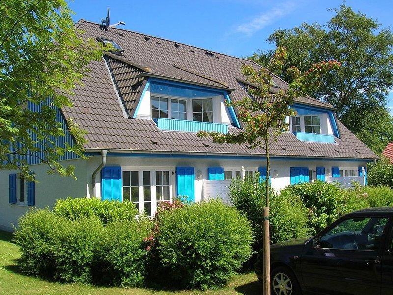 günstige FeWo in Prerow  für 2 Pers. in ruhiger Lage, große West-Terasse, holiday rental in Ostseebad Prerow