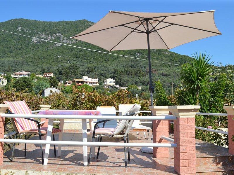 Aliki apartment,paramonas strand,20 Meter vom Strand entfernt, holiday rental in Agios Matthaios