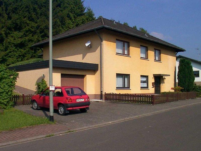 Ruhige Ferienwohnung  für 2 Personen am Rande des Nationalpark Hunsrück-Hochwald, holiday rental in Bruecken