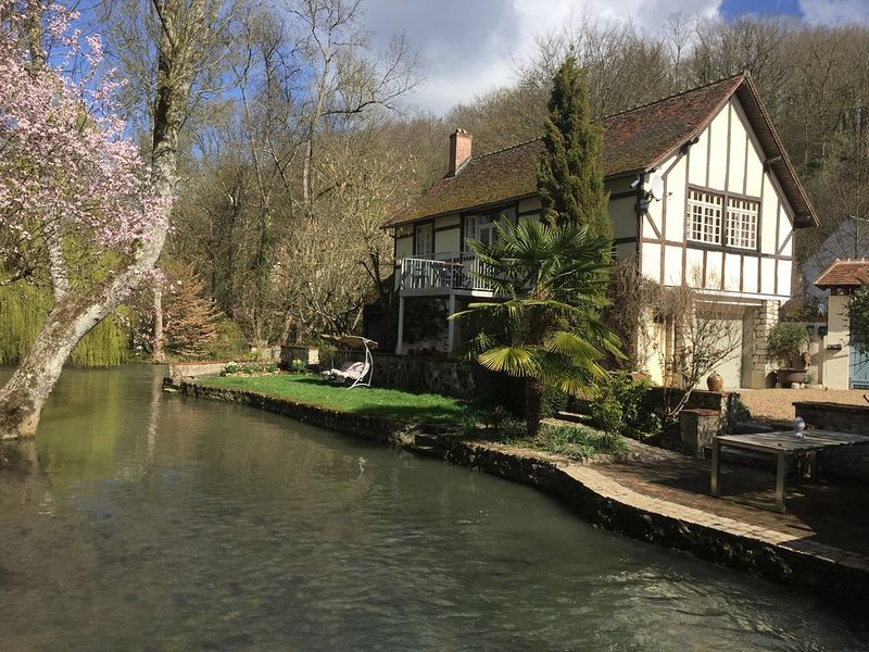 charmant gîte rénové avec vue sur parc et rivière, holiday rental in Champigny-en-Beauce