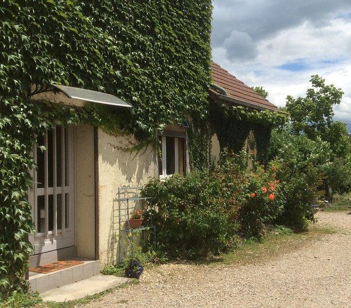 Gite rénové au coeur du vignoble jurassien., location de vacances à Baume-les-Messieurs
