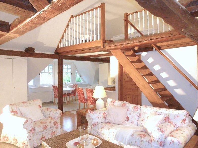 Ferienwohnung 'Storchennest', casa vacanza a Ostseebad Heiligendamm