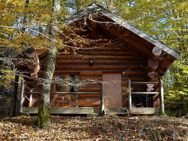 Chalet 6 personnes en bois, holiday rental in Saint-Yrieix-la-Perche