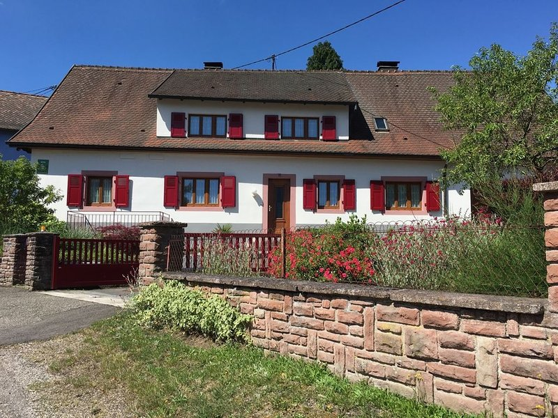Les Roches Des Fées (GITE 2070 SIFFERLIN)en Alsace, holiday rental in Albe