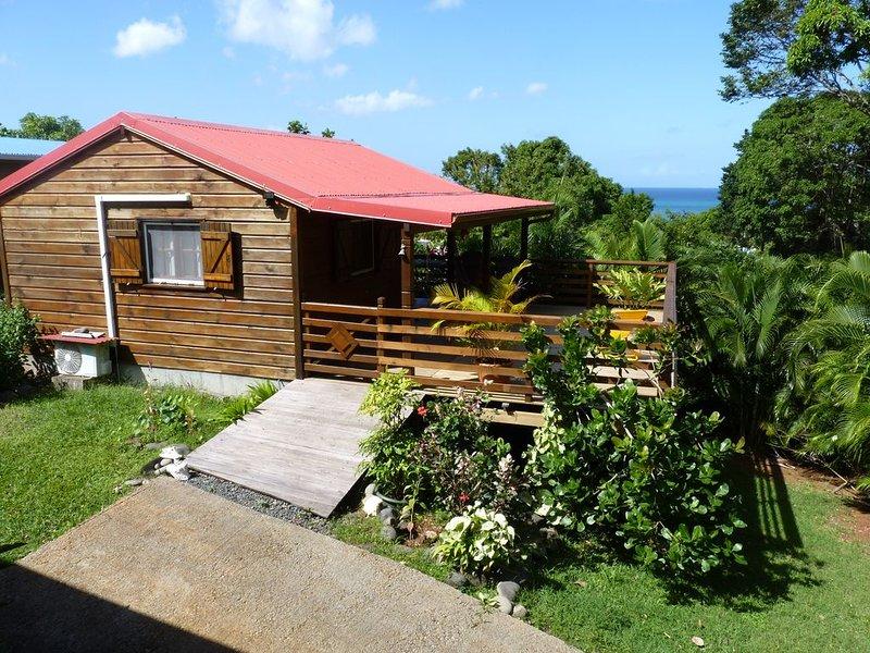 Kaz Luciole à Riflet - Deshaies, vacation rental in Rifflet