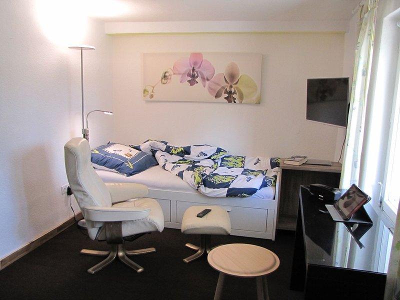 Fein - Ruhig - Verkehrsgünstig: Apartment 'Hugo37' am Bergpark Bad Wilhemlshöhe, aluguéis de temporada em Niestetal