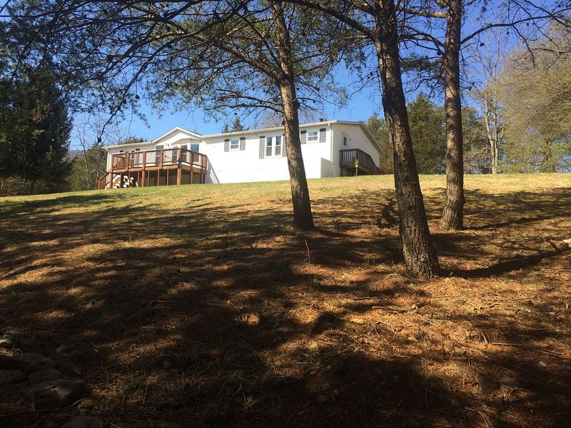 3 bed /2 ba - Anxiety slips away in our hillside home surrounded  by nature., holiday rental in Williamsville