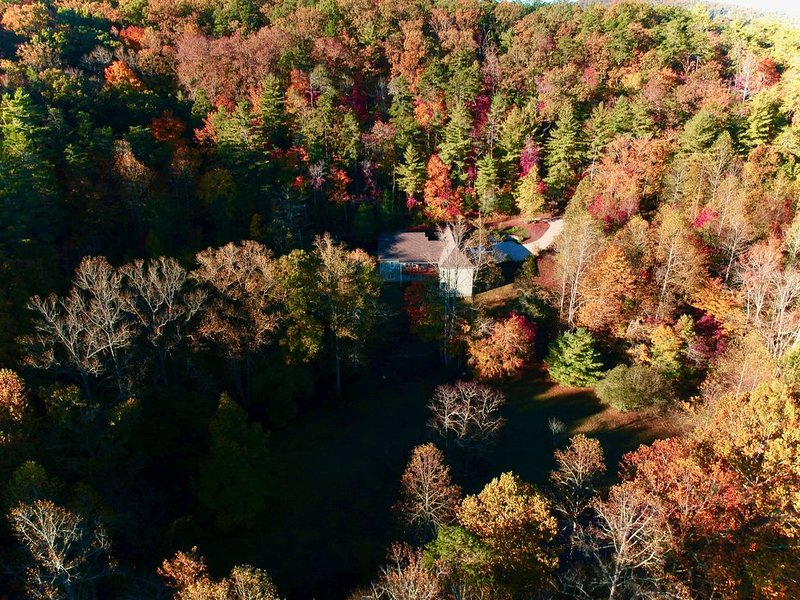 Beautiful Mountain House Historic Yahoola Creek and Cherokee National Forest, holiday rental in Dahlonega